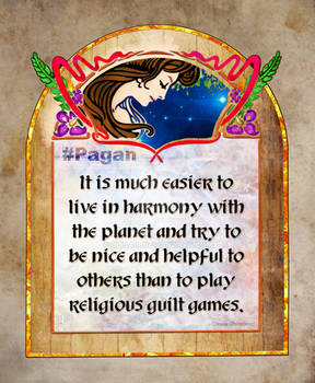 #Pagan - Words to live buy