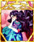 Yukako Stained glass style