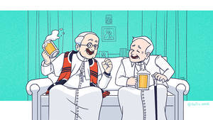Two Happy Popes