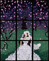 Marriage Blossoms at Night by NameiLynre