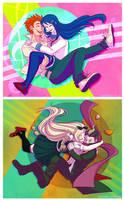 Super High School Level Cuties by raesquared