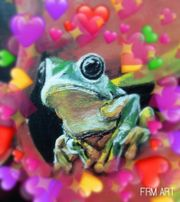 Wholesome frog