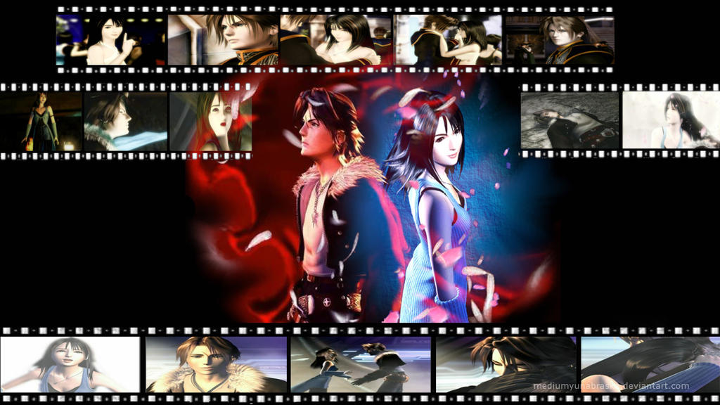 Squall And Rinoa Wallpaper Squall x Rinoa by