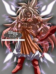 Broly Super Saiyan 5 by XxXBROLYXxX