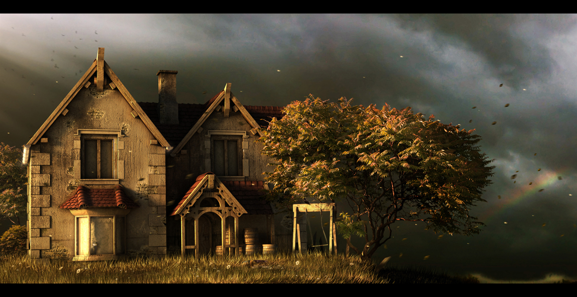 Old house by Morxx