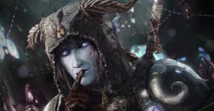 Draenei Warrior CloseUp