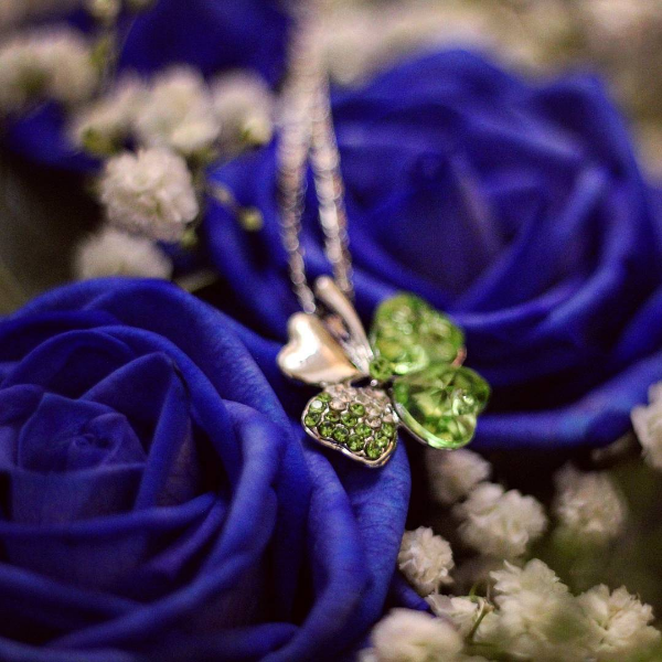 Royal Blue Roses by mona24