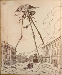 War of the Worlds by Domigorgon