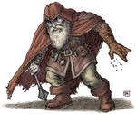 Player Character 03 - Dwarf Wizard