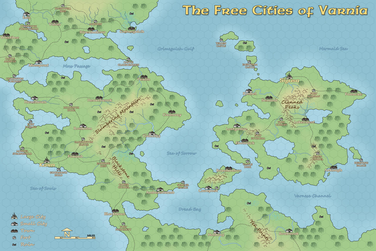 Map of the free cities by domigorgon on deviantart map of the free cities by domigorgon gumiabroncs Choice Image