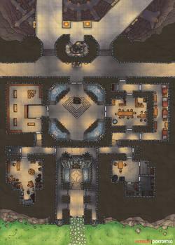 Dwarven Halls Map