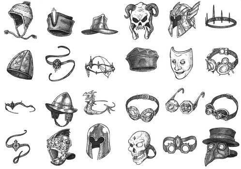 Magic Items - Headgear