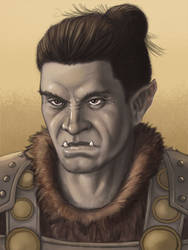 Half-orc Inquisitor