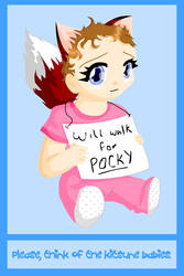 Kitsune Baby by usagisailor