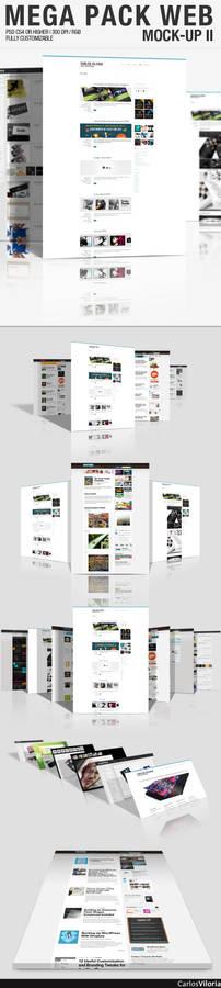 Mega Pack WEB Mock-Up 2