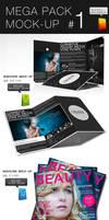 Mega Pack Mock-Up 1 by CarlosViloria
