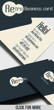 Business Card - Retro II