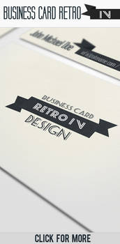 Business Card - Retro IV