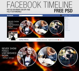 Facebook Timeline Cover - Free PSD