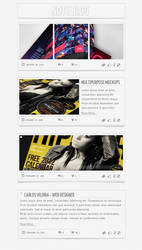 Note Blog - Free PSD