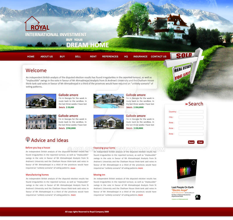 Royal Real estate by ColorsChef