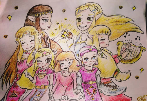 Hyrule princesses