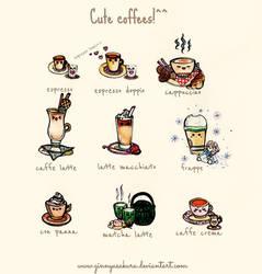 Cute world of coffees! by GinnyAsakura