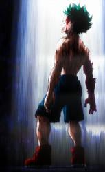 Boku No Hero Midoriya Deku is my hero by unp0ssible