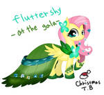 Flutter Shy at the gala
