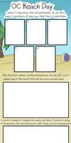 OC Beach Day: Blank Meme