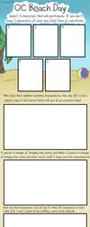 OC Beach Day: Blank Meme by haxor478