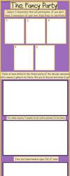 Fancy Party: Blank Meme by haxor478