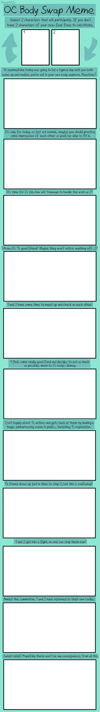 Body Swap: Blank Meme
