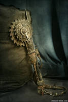 Sawblade Axe by NuclearSnailStudios