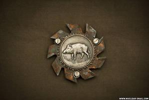 Heavy Boar Insignia by NuclearSnailStudios