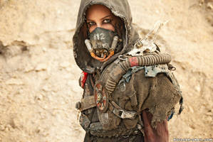 Wasteland Scavenger by NuclearSnailStudios