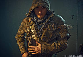 Post-Apocalyptic Hooded Jacket 2 by NuclearSnailStudios