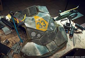 Dystopian Tactical Sci-Fi Armor Nr. 33, WIP