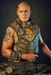Dystopian Marine Vest by NuclearSnailStudios