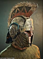 Neo-Roman Helm 01 by NuclearSnailStudios