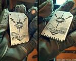 Real-Metal Access Card