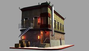 Chinatown Building III by marq4porsche