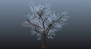 Blue Fantasy Tree