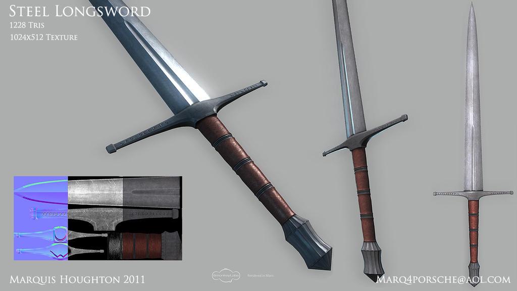 Steel Longsword