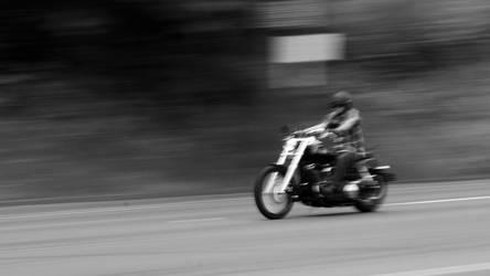Biker BW