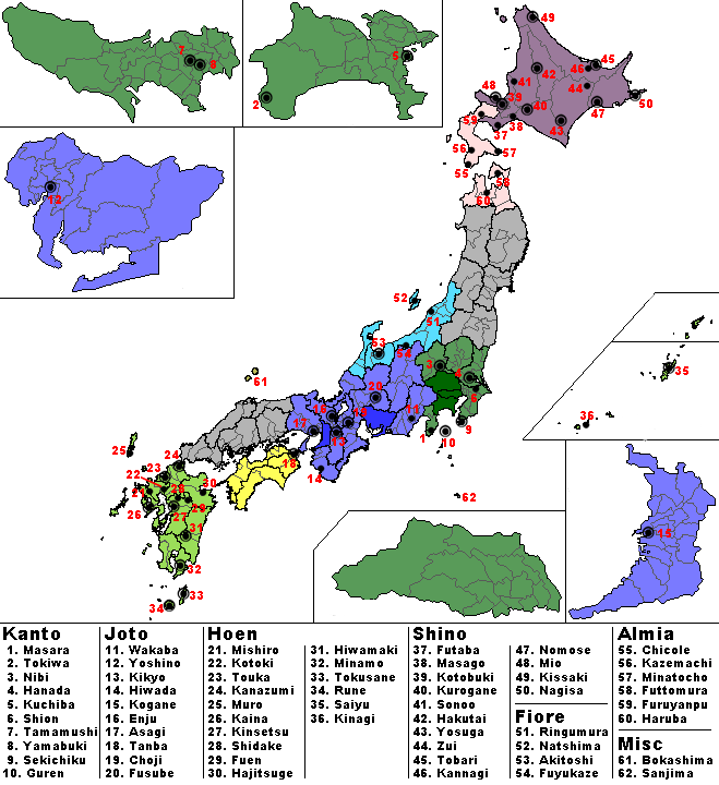 Pokemon regions map of japan north america regions map pokemon pokemon pokemon regions map of japan on north america regions map pokemon regions in japan pokemon world gumiabroncs Images