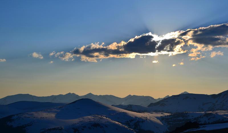 highest elevation sunset by millie-gillana