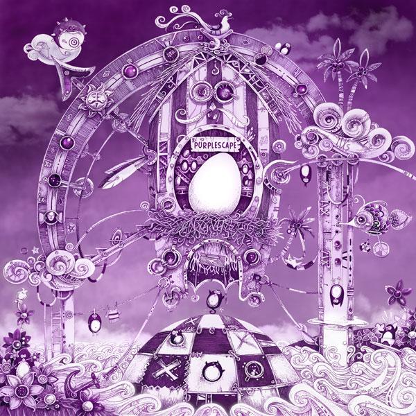 Purplescape by bjornik