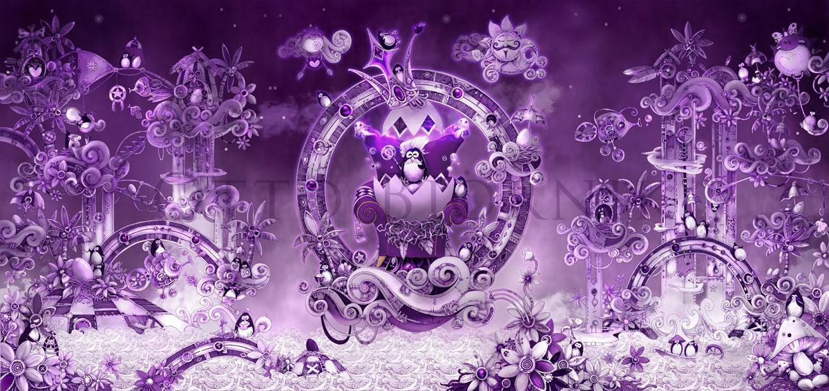 My Purple World by bjornik