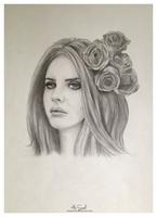 Lana Del Rey by Miastroeh
